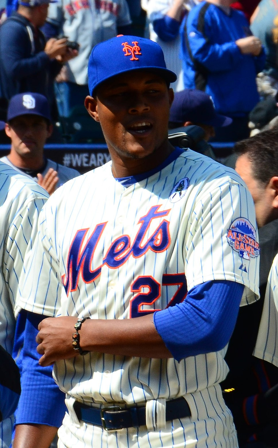 Jeurys Familia on April 1, 2013