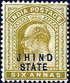 Jhind Six Annas Edward VII Head 1905 SG51.jpg