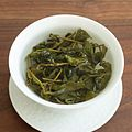 Jin Xuan oolong tea steeping in gaiwan.jpg