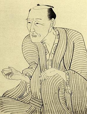 Jippensha Ikku - Drawn by Kunisada