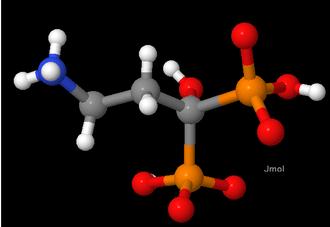 Molecular graphics - Fig. 1. Key: Hydrogen = white, carbon = grey, nitrogen = blue, oxygen = red, and phosphorus = orange.