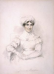 Joanna Baillie 1762 - 1851 Dramatist by Mary Ann Knight.jpg