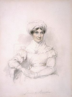 Joanna Baillie - Painting of Joanna Baillie by Mary Ann Knight
