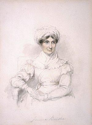 Joanna Baillie - Painting of Joanna Baillie by Mary Ann Knight