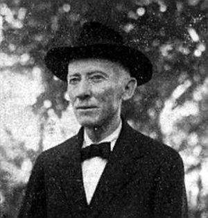 """Peter Jørgensen (entomologist) - Peter Jørgensen in Villarrica 1933, Photo by Poul (""""Pablo"""") Schouboe"""