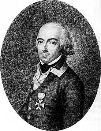 Johann Gabriel Chasteler de Courcelles - Johann Gabriel Chasteler de Courcelles