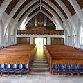 Johanneskirche (Berlin-Frohnau) Blick zur Orgelempore.JPG