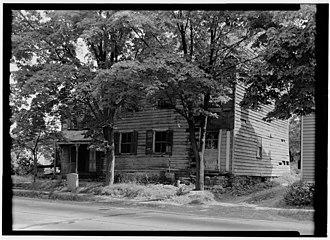 Pluckemin, New Jersey - Image: John Fenner House Pluckemin Somerset County NJ HABS