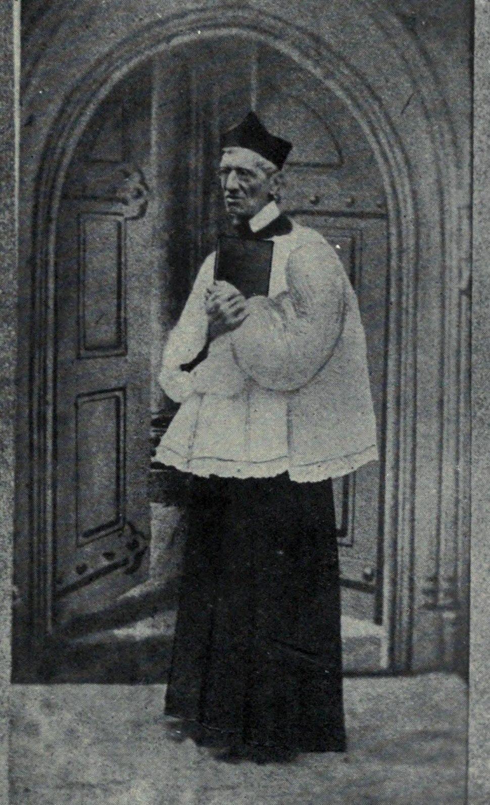 John Henry Newman circa 1863