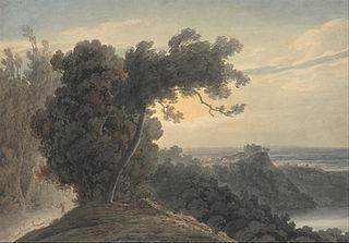 The Lake of Albano and Castel Gandolfo