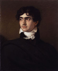 Portrait de l'écrivain John William Polidori