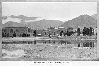 Jokhang - Jokhang in the mid-1840s