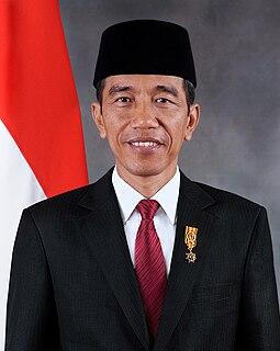 Joko Widodo President of Indonesia