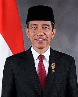 Joko Widodo 2014 official portrait