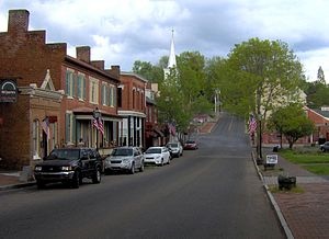 Jonesborough, Tennessee - Main Street, part of the Jonesborough Historic District
