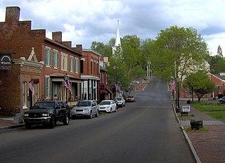 Jonesborough Historic District United States historic place