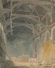 Interior of St. John's Palace, Eltham