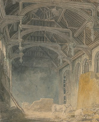 Eltham Palace - Image: Joseph Mallord William Turner Interior of St. John's Palace, Eltham Google Art Project