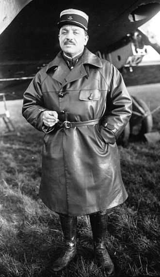 Chief of Staff of the French Air Force - Image: Joseph Vuillemin 1925
