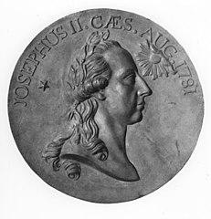 Médaillon avec buste de l'empereur Joseph II
