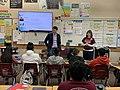Josh Harder visits Glick Middle School in Modesto, California.jpg