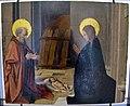 Josse lieferinxe, natività e santo vescovo sul retro, 1500 ca., 01.JPG