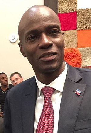Jovenel Moise is the current President of Haiti Jovenel Moise.jpg