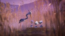 চিত্র:Joy & Heron - Animated CGI Spot by Passion Pictures.webm