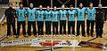 Jugadores y técnicos del Bádminton Olimpia Torrelavega Ruercon.jpg