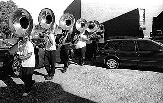 Jules T. Allen - Image: Jules Allen Photograph Marching Band 01