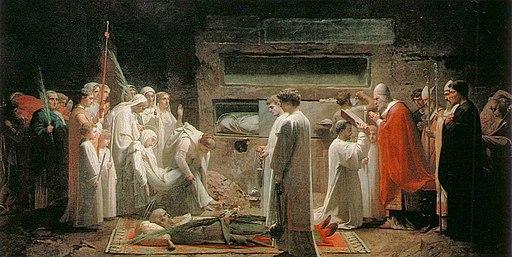 Jules Eugene Lenepveu The Martyrs in the Catacombs