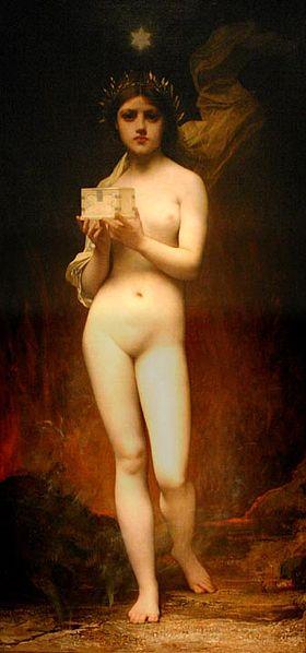 Jules Joseph Lefebvre, Pandora, 1872