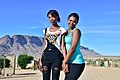 Juline Fortune & Megan Johnston, Klein Pella, Northern Cape, South Africa (20351410710).jpg