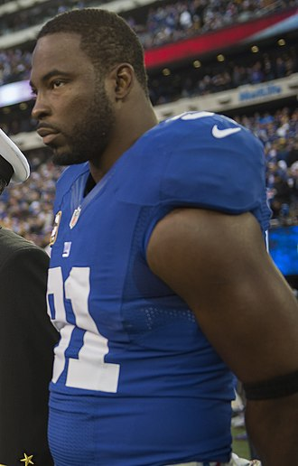 Justin Tuck - Tuck with the Giants in 2012