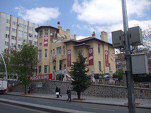 Americanization - Burger King in Ankara, Turkey.