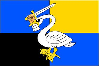 Křtěnov - Image: Křtěnov vlajka