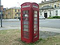 K6 telephone kiosk, Platform Road, Southampton.jpg