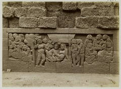 KITLV 27977 - Kassian Céphas - Relief of the hidden base of Borobudur - 1890-1891.tif
