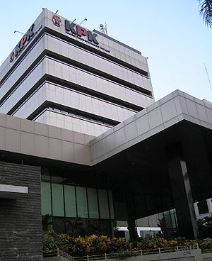Corruption Eradication Commission - The KPK head office in Jakarta