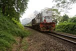 KTM train heading north, Singapore - 20101113.jpg