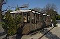 Kahlenbergbahn, malnova vagono sur Kahlenberg.jpg
