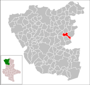 Location of Kahrstedt within Altmarkkreis Salzwedel