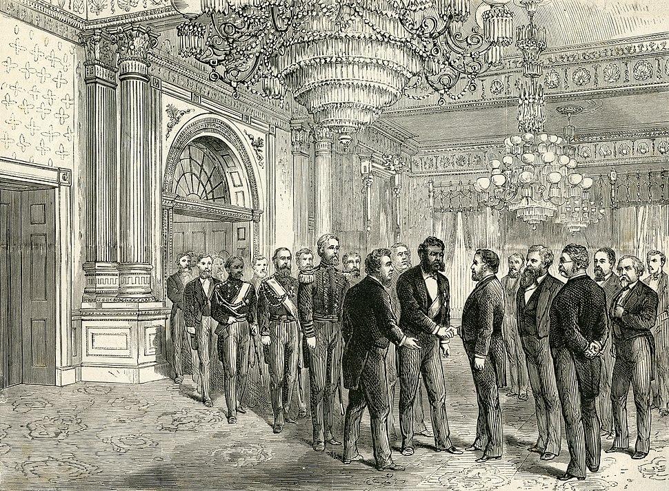 Kalakaua Grant state visit 1874