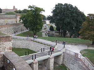 Cultural Monuments of Exceptional Importance (Serbia) - Image: Kalemegdan overview, Belgrade, Serbia