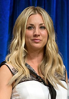 Kaley Cuoco at PaleyFest 2013.jpg