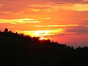 Canlaon - Sunset taken at Kanlaon Volcano's slope