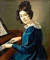 Karl August Aerttinger - Mädchen am Spinett.jpg