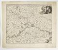 Karta över mellersta Belgien, omkring staden Namur, 1650-1700 - Skoklosters slott - 97993.tif
