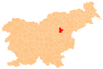 The location of the City Municipality of Celje