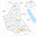 Karte Gemeinde Kappel am Albis 2007.png